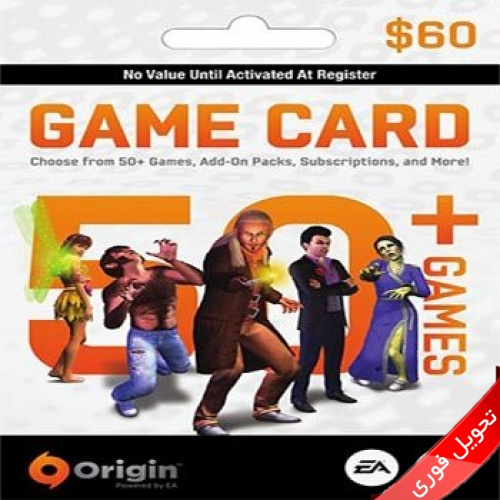 Origin EA Cash Card 60$ US Instand Delivery